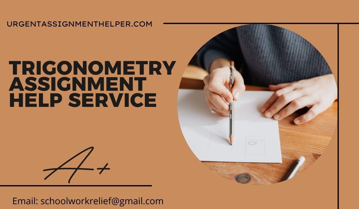 trigonometry assignment help